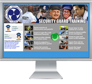 Training website for security guards