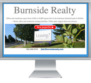 Photo intensive website for an industrial realty