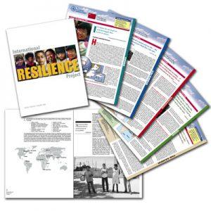 Kit folder, color inserts & b/w report